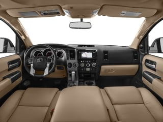 2017 Toyota Sequoia Pictures Sequoia Utility 4D Limited 2WD V8 photos full dashboard