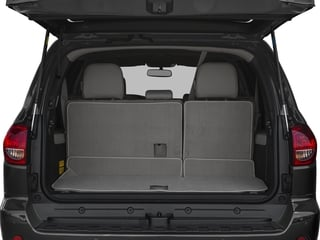 2017 Toyota Sequoia Pictures Sequoia Utility 4D Limited 2WD V8 photos open trunk