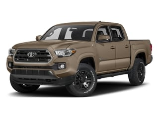 2017 Toyota Tacoma Pictures Tacoma SR5 Crew Cab 2WD V6 photos side front view