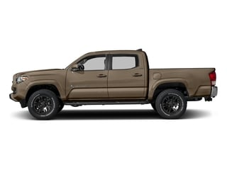 2017 Toyota Tacoma Pictures Tacoma SR5 Crew Cab 2WD V6 photos side view