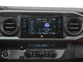 2017 Toyota Tacoma Pictures Tacoma Limited Crew Cab 4WD V6 photos stereo system