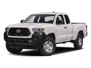 2017 Toyota Tacoma Pictures Tacoma SR Extended Cab 2WD V6 photos side front view