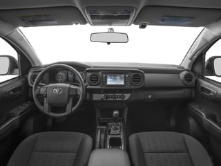 2017 Toyota Tacoma Pictures Tacoma SR Extended Cab 2WD V6 photos full dashboard
