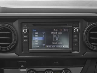 2017 Toyota Tacoma Pictures Tacoma SR Extended Cab 2WD V6 photos stereo system