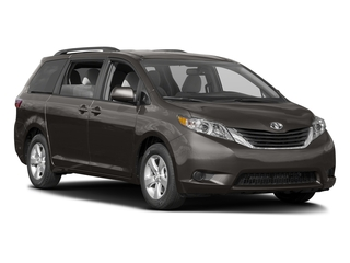 2017 Toyota Sienna Pictures Sienna Wagon 5D LE AWD V6 photos side front view