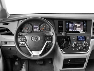 2017 Toyota Sienna Pictures Sienna Wagon 5D LE AWD V6 photos driver's dashboard