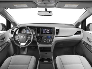 2017 Toyota Sienna Pictures Sienna Wagon 5D LE AWD V6 photos full dashboard