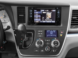 2017 Toyota Sienna Pictures Sienna Wagon 5D LE AWD V6 photos stereo system