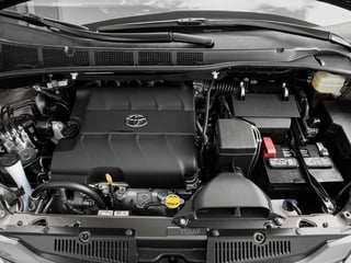 2017 Toyota Sienna Pictures Sienna Wagon 5D LE AWD V6 photos engine