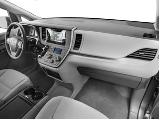 2017 Toyota Sienna Pictures Sienna Wagon 5D LE AWD V6 photos passenger's dashboard