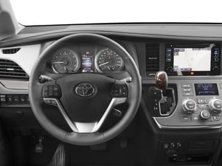 2017 Toyota Sienna Pictures Sienna Wagon 5D XLE V6 photos driver's dashboard