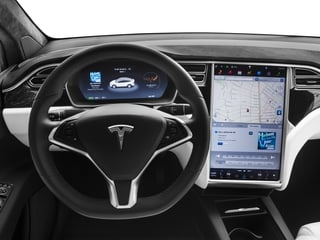 2017 Tesla Motors Model X Pictures Model X Utility 4D 100 kWh AWD Electric photos driver's dashboard