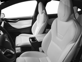 2017 Tesla Motors Model X Pictures Model X Utility 4D 90 kWh AWD Electric photos front seat interior