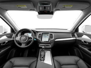 2017 Volvo XC90 Pictures XC90 Util 4D T5 Momentum AWD I4 Turbo photos full dashboard