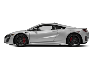 2018 Acura NSX Pictures NSX Coupe 2D AWD Hybrid Turbo photos side view