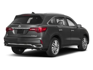 2018 Acura MDX Pictures MDX Utility 4D Advance AWD photos side rear view