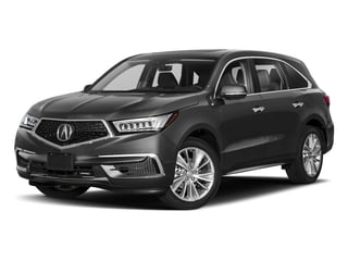 2018 Acura MDX Pictures MDX FWD w/Technology Pkg photos side front view