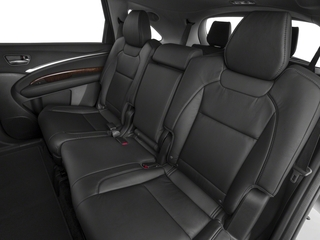2018 Acura MDX Pictures MDX FWD w/Technology Pkg photos backseat interior