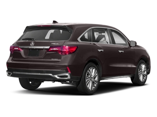 2018 Acura MDX Pictures MDX SH-AWD w/Technology Pkg photos side rear view