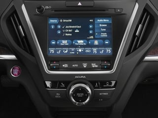 2018 Acura MDX Pictures MDX SH-AWD w/Technology Pkg photos stereo system