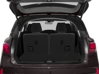 2018 Acura MDX Pictures MDX SH-AWD w/Technology Pkg photos open trunk