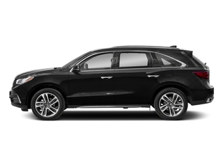 2018 Acura MDX Pictures MDX FWD w/Advance/Entertainment Pkg photos side view