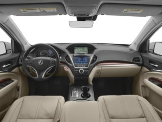 2018 Acura MDX Pictures MDX Utility 4D Advance DVD AWD photos full dashboard