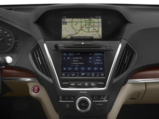 2018 Acura MDX Pictures MDX Utility 4D Advance DVD AWD photos stereo system