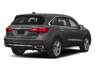2018 Acura MDX Pictures MDX SH-AWD w/Technology/Entertainment Pkg photos side rear view