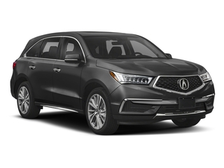 2018 Acura MDX Pictures MDX Utility 4D Technology DVD AWD photos side front view