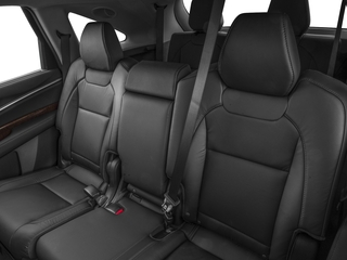 2018 Acura MDX Pictures MDX SH-AWD w/Technology/Entertainment Pkg photos backseat interior