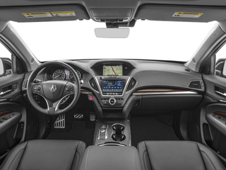 2018 Acura MDX Pictures MDX Utility 4D Technology AWD Hybrid photos full dashboard