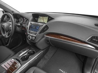 2018 Acura MDX Pictures MDX Utility 4D Technology AWD Hybrid photos passenger's dashboard