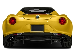 2018 Alfa Romeo 4C Coupe Pictures 4C Coupe photos rear view