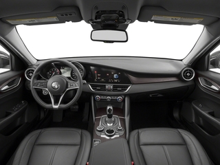 2018 Alfa Romeo Giulia Pictures Giulia Ti AWD photos full dashboard