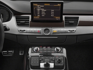 2018 Audi S8 plus Pictures S8 plus 4.0 TFSI photos stereo system