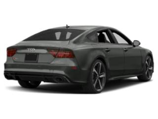 2018 Audi RS 7 Pictures RS 7 Sedan 4D RS7 Performance AWD photos side rear view