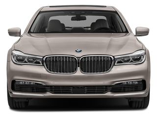 2018 BMW 7 Series Pictures 7 Series 750i Sedan photos front view
