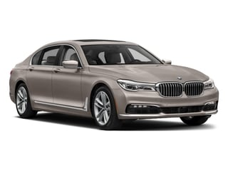2018 BMW 7 Series Pictures 7 Series 750i Sedan photos side front view