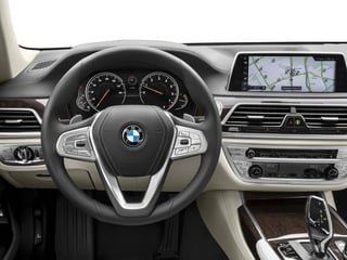 2018 BMW 7 Series Pictures 7 Series 750i Sedan photos driver's dashboard