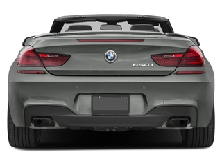2018 BMW 6 Series Pictures 6 Series 650i xDrive Convertible photos rear view