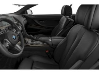 2018 BMW 6 Series Pictures 6 Series 640i Convertible photos front seat interior