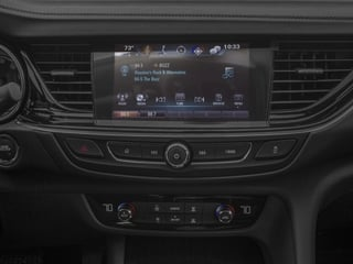 2018 Buick Regal Sportback Pictures Regal Sportback 4dr Sdn Essence FWD photos stereo system