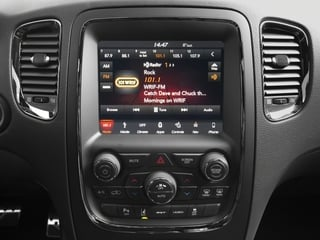 2018 Dodge Durango Pictures Durango SRT AWD photos stereo system