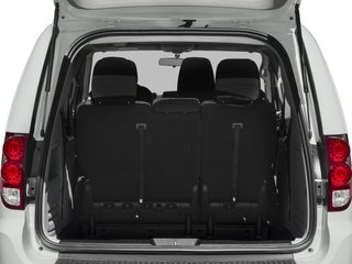 2018 Dodge Grand Caravan Pictures Grand Caravan SE Plus Wagon photos open trunk