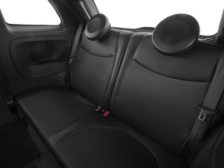 2018 FIAT 500e Pictures 500e Hatch photos backseat interior