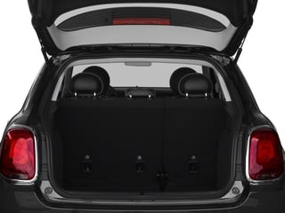 2018 FIAT 500X Pictures 500X Urbana Edition FWD photos open trunk