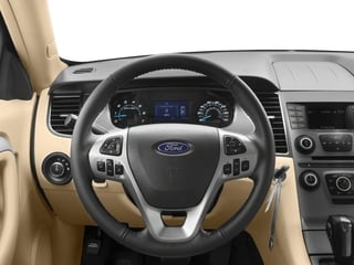 2018 Ford Taurus Pictures Taurus Sedan 4D SE V6 photos driver's dashboard
