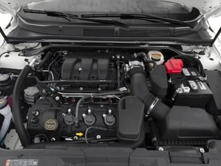 2018 Ford Taurus Pictures Taurus Sedan 4D SE V6 photos engine