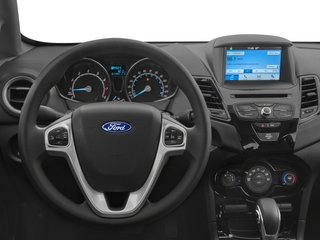 2018 Ford Fiesta Pictures Fiesta Hatchback 5D SE I4 photos driver's dashboard